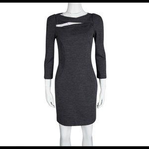 Diane Von Furstenberg Dress Gray, size 4 NWT